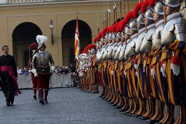 The Vaticans Swiss Guard Are Sworn In