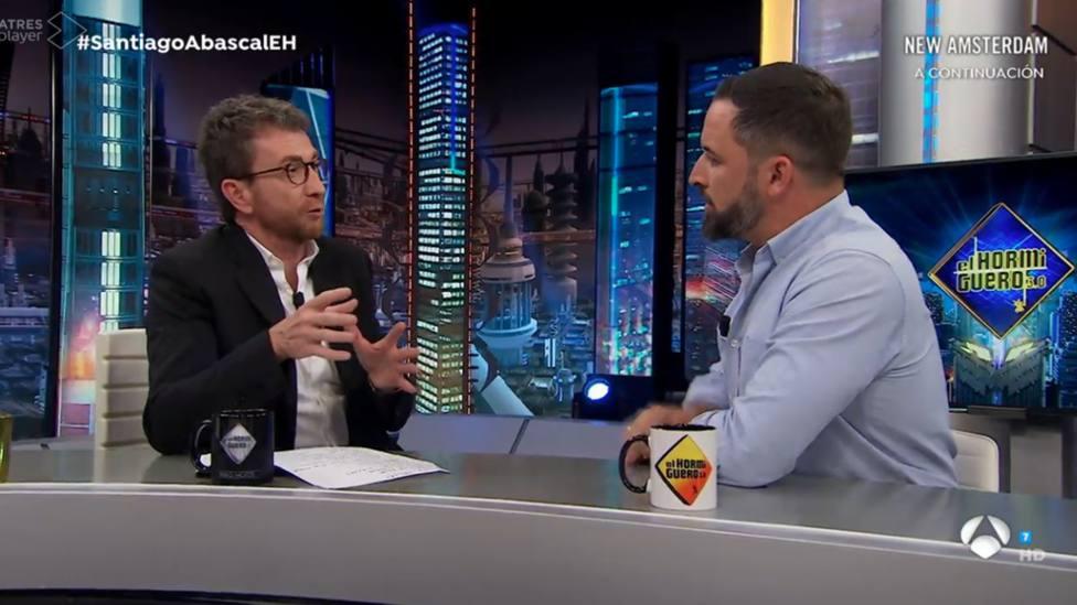 Pablo Motos revela el incidente del que fue víctima tras entrevistar a Abascal en El Hormiguero