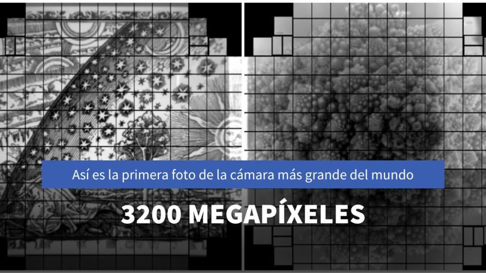 Así es un romanesco en 3.200 megapíxeles: la primera imagen de la cámara digital más grande del mundo