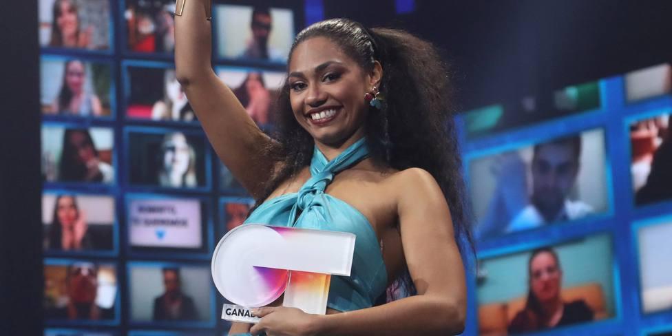 Nia, ganadora de operación Triunfo 2020 (TVE)