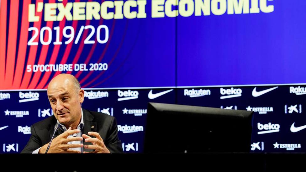 Jordi Moix, vicepresidente económico del Barça (FOTO: @FCBarcelona_es)