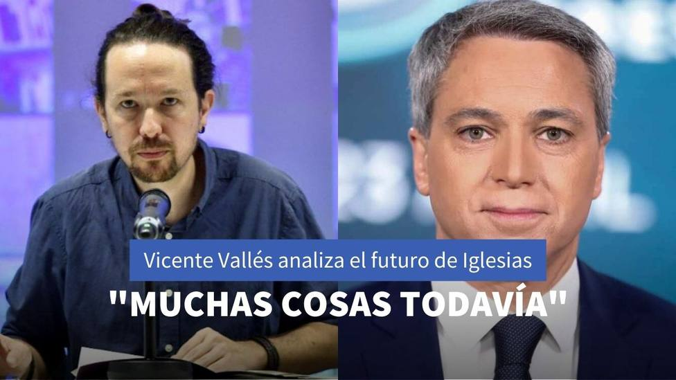 Pablo Iglesias y Vicente Vallés