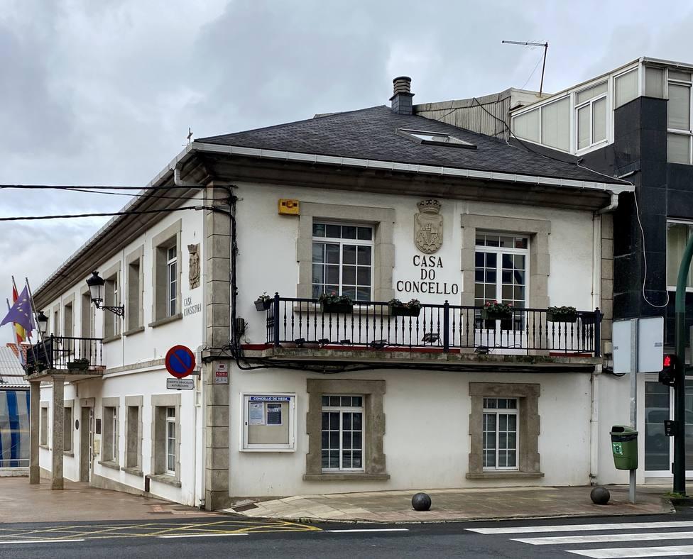 Casa consistorial de Neda. FOTO: Concello de Neda