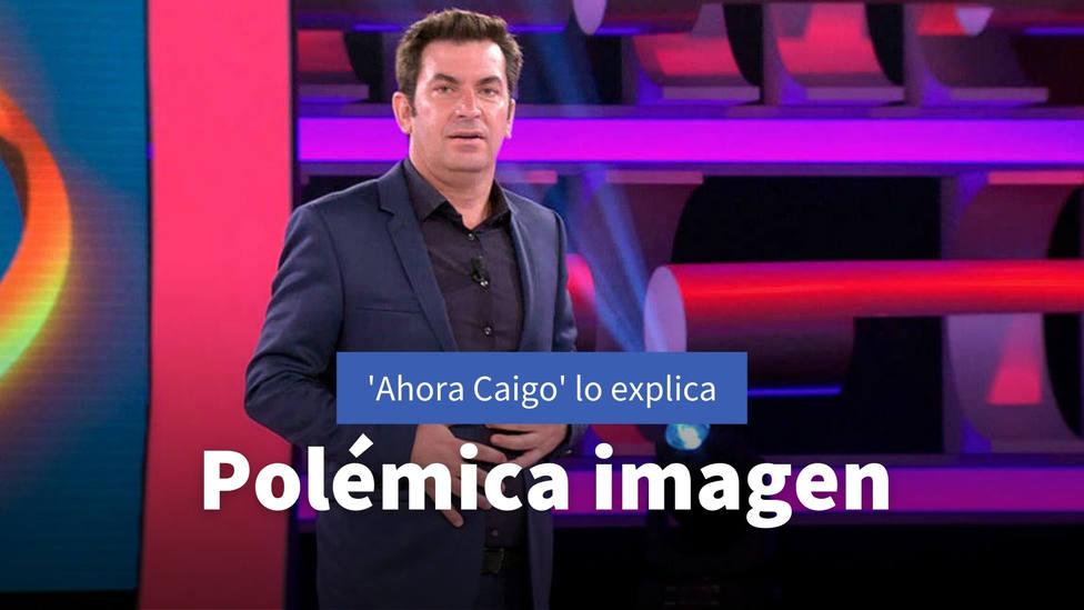 La polémica imagen de Ahora Caigo que ha obligado al programa de Arturo Valls a dar explicaciones