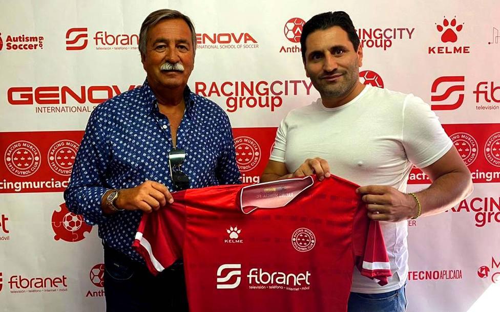 Antonio Pedreño es el nuevo entrenador del Racing Murcia