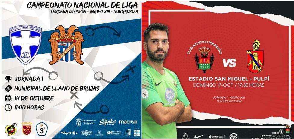 Águilas FC y Atlético Pulpileño arrancan la temporada con la obigación de sumar de tres