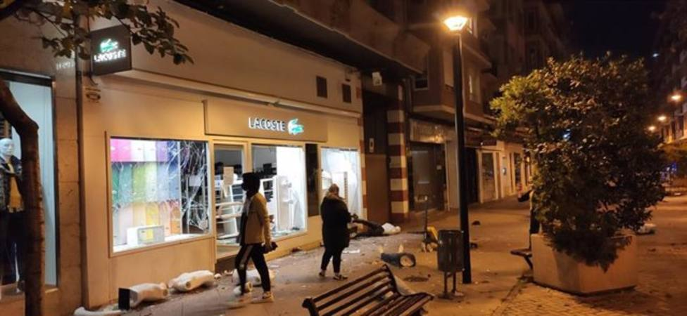 La Policía Nacional detiene a otra persona relacionada con los disturbios del 31 de octubre en Logroño