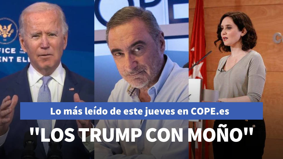 La comparación de Herrera que apunta a Podemos: Trump con moño, entre lo más leído del jueves