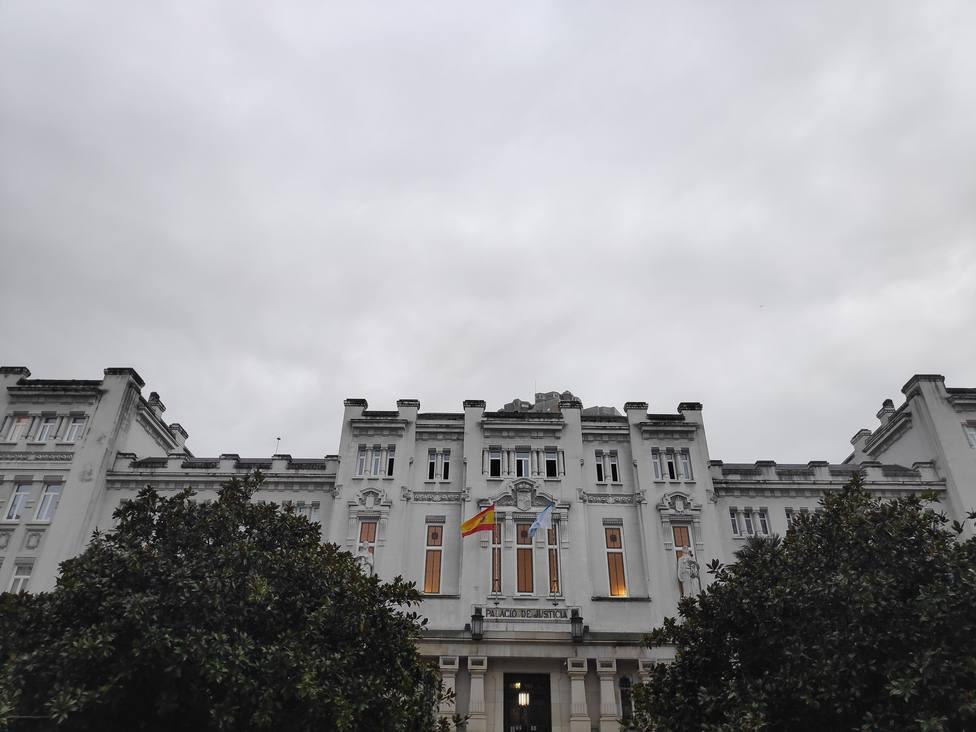 Palacio de Justicia, sede del Tribunal Superior de Xustiza de Galicia