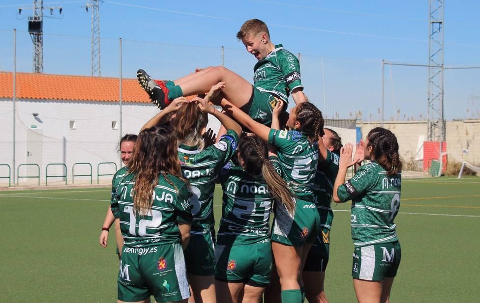 Primera victoria de la temporada para el equipo senior femenino de Jaén Rugby