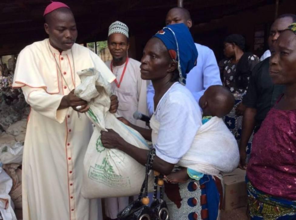 La iniciativa de una diócesis nigeriana para acoger a los que huyen de la violencia de Boko Haram