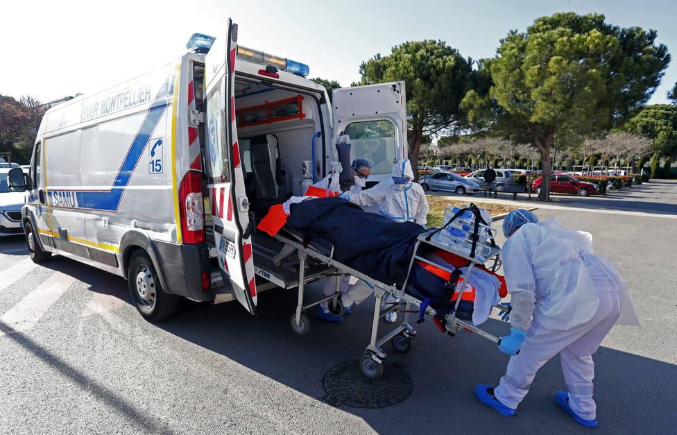 La tercera ola avanza sin control en Francia y las UCI rozan ya los 6.000 pacientes ingresados