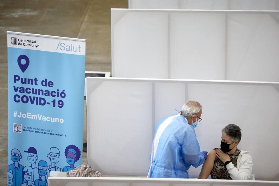Campaña de vacunación contra la covid en Cataluña