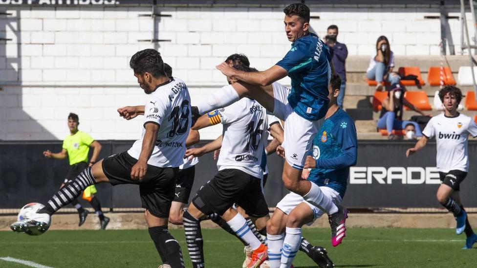 El Mestalla-Espanyol B que supuso el descenso