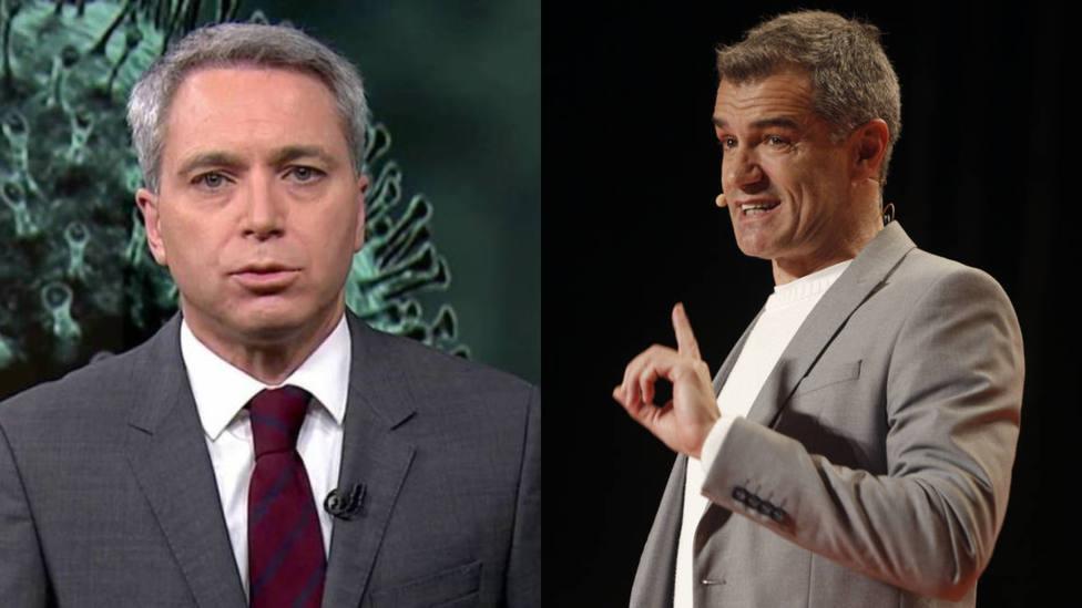 Vicente Vallés sorprende con su duro revés contra Toni Cantó: En política se conoce como...
