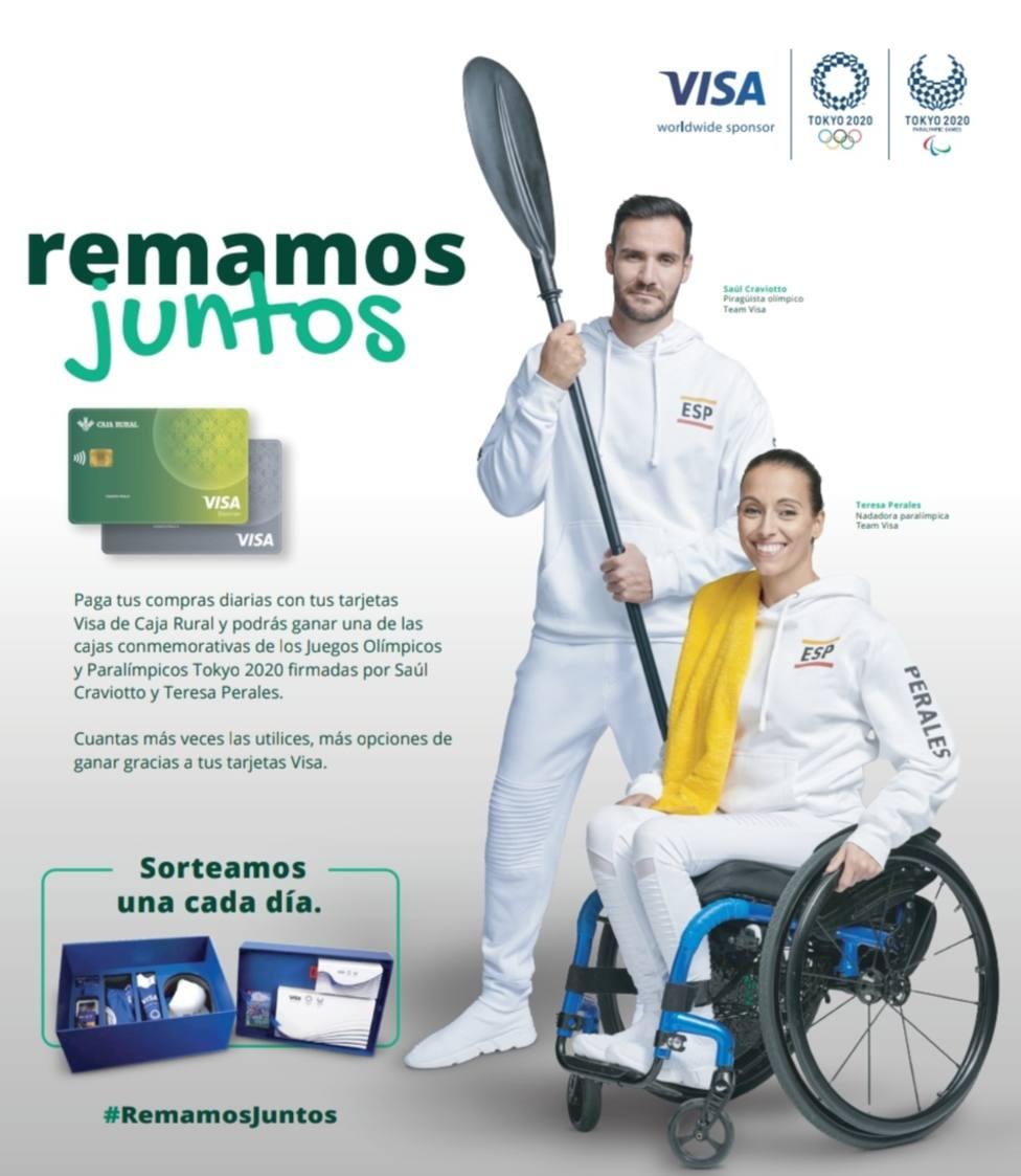 Teresa Perales y Raul Craviotto