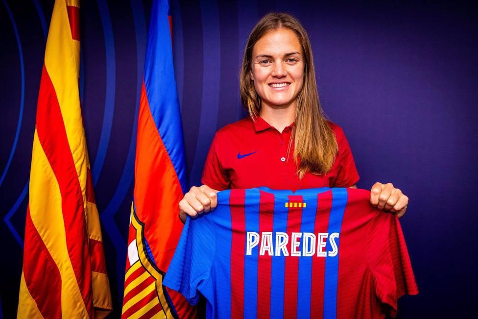 Irene Paredes ficha Barça Feminí