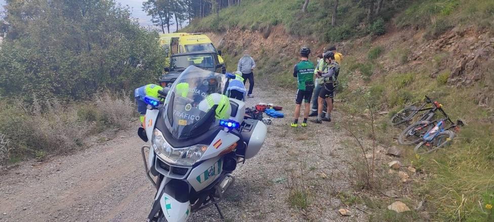 Fallece el ciclista de 41 años que fue atropellado el domingo en Zenzano (La Rioja)