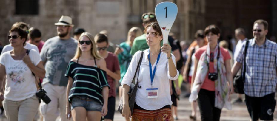 Turistas. EFE
