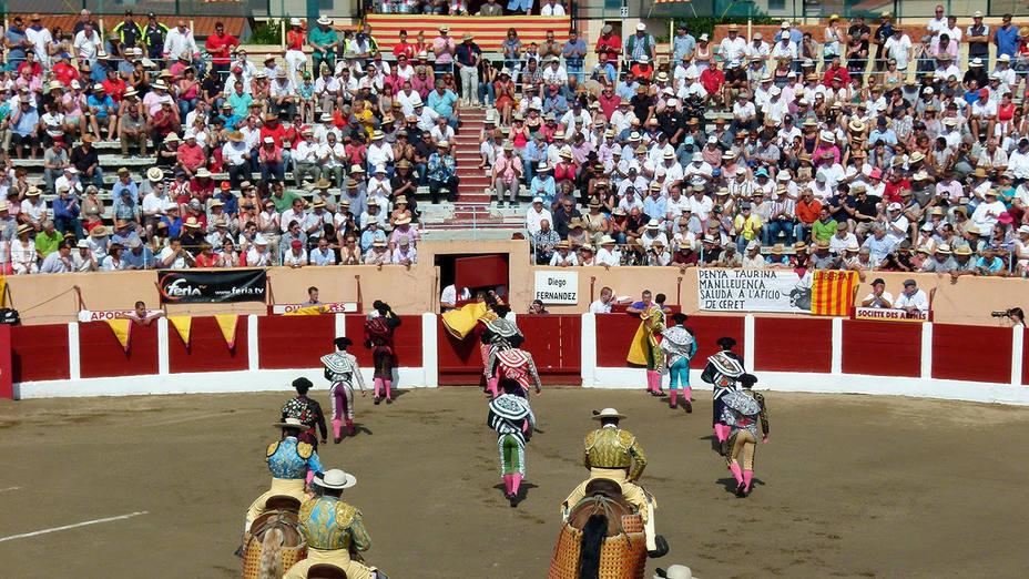 La plaza de toros de Ceret acogerá su feria taurina el próximo mes de julio.