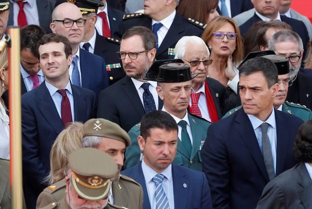 Pablo Casado en el acto conmemorativo del Día de la Comunidad de Madrid