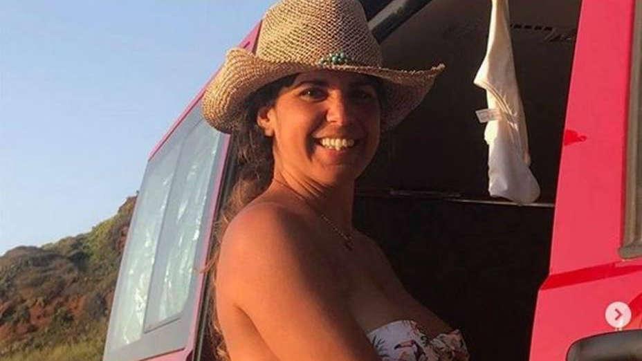 La imagen que ha utilizado Teresa Rodríguez en su perfil de Instagram para anunciar su embarazo