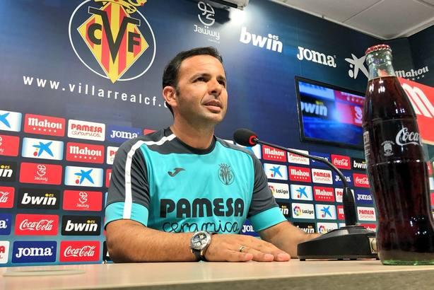 Calleja: Debemos estar casi perfectos para obtener un buen resultado en el Camp Nou
