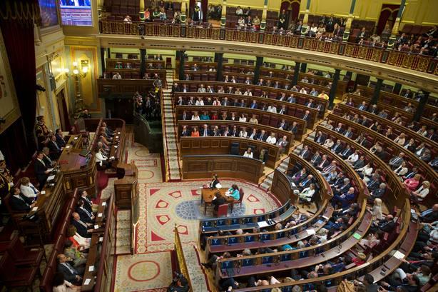 Congreso de los Diputados. Imagen de recurso