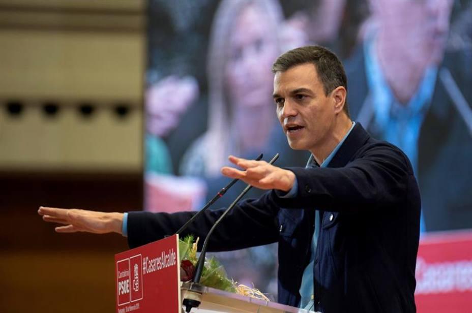 Sánchez acusa a la derecha y al independentismo de vivir mejor en la confrontación