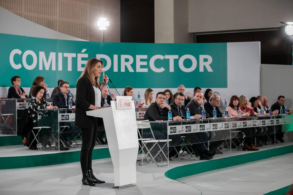 El Comité Director del PSOE-A se reúne esté martes en Sevilla tras la aprobación de las candidaturas