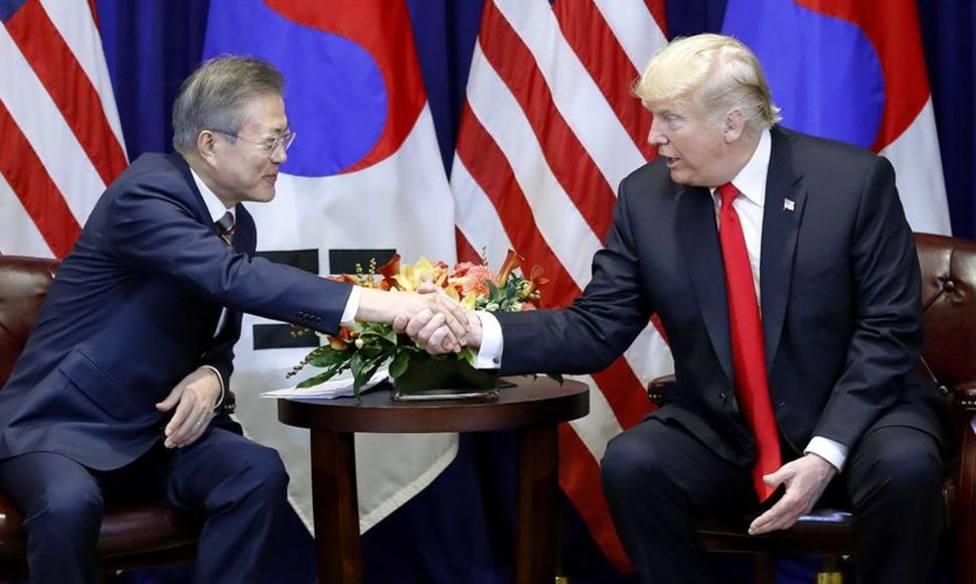 La cumbre entre Estados Unidos y Corea del Sur ya tiene fecha: 10 y 11 de abril