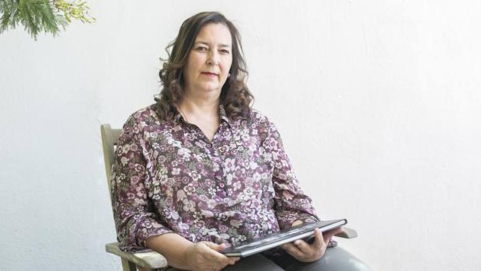 La presidenta de la Asociación Víctimas del Terrorismo, Maite Araluce. Foto ABC