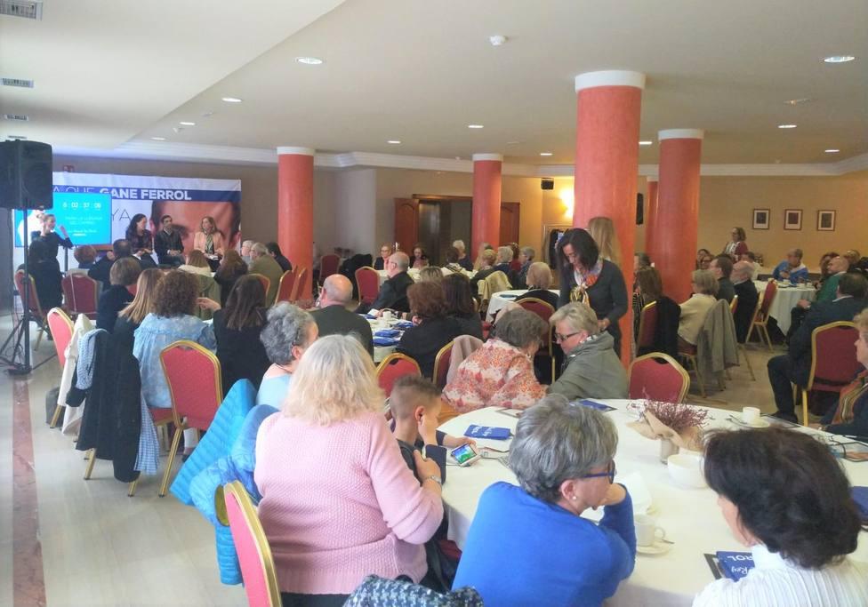 Celebración de un encuentro sectorial de política social del PP ferrolano