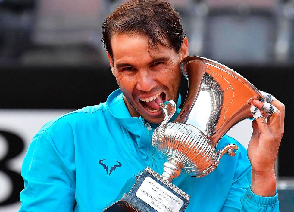 Rafa Nadal, campeón del Masters de Roma (EFE)