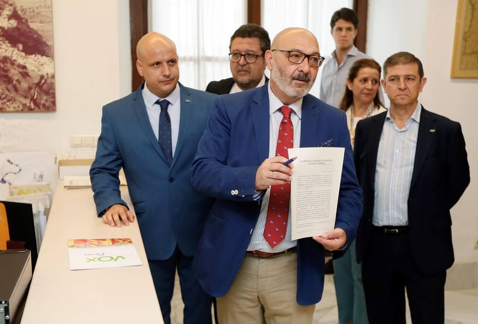 Vox se plantea ahora retirar la enmienda a los Presupuestos andaluces