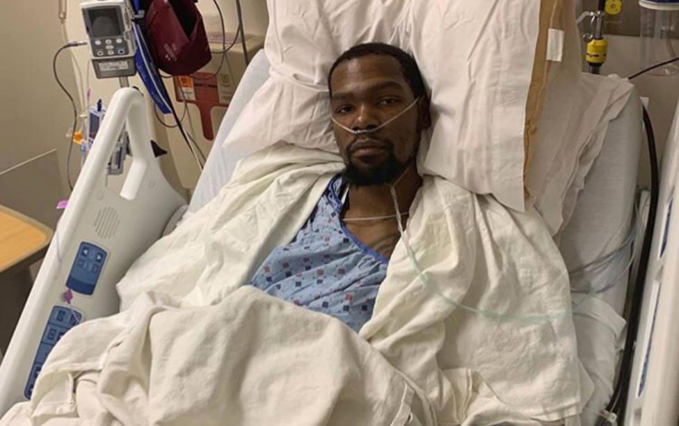 Kevin Durant, operado de su lesión