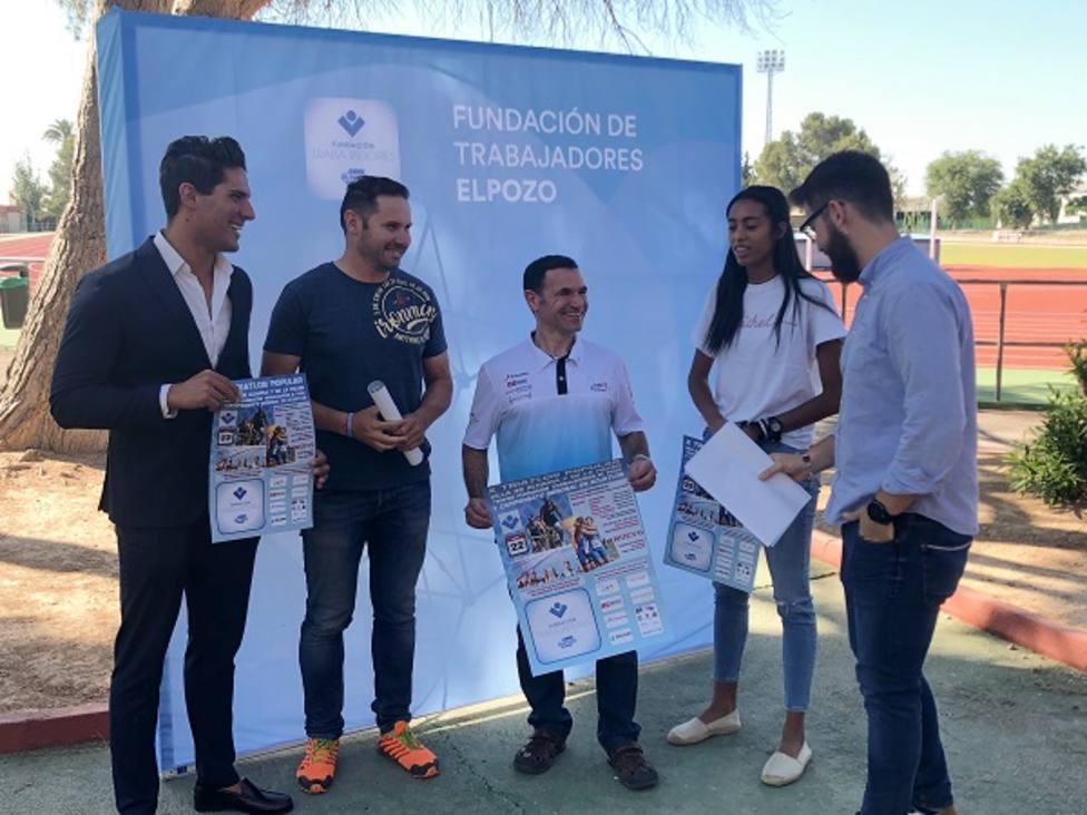 Presentación del Triatlón Popular Villa de Alhama