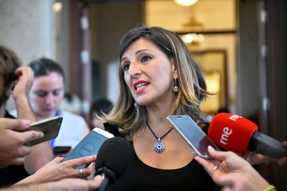 Yolanda Díaz, diputada de Unidas Podemos en el Congreso de los Diputados - FOTO: En Común