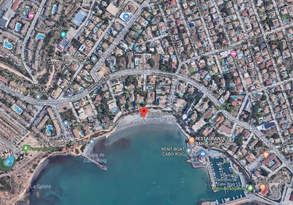 Muere el niño de tres años rescatado el lunes con signos de ahogamiento en la playa de Cabo Roig de Orihuela (Alicante)
