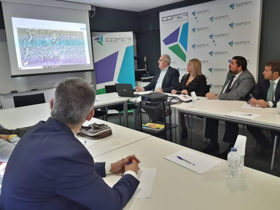 Presentación de la propuesta a los empresarios de Ferrolterra, Eume y Ortegal - FOTO: SEA