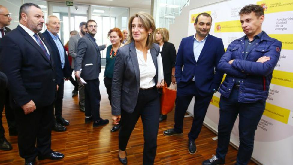 Ribera anuncia que Castilla y León firmará a partir de mayo de 2020 cuatro convenios para una transición justa