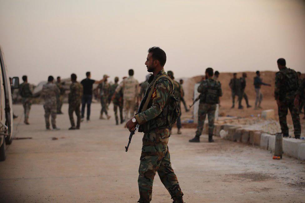Siria asegura haber completado su despliegue en zonas fronterizas con Turquía en la provincia de Hasaka