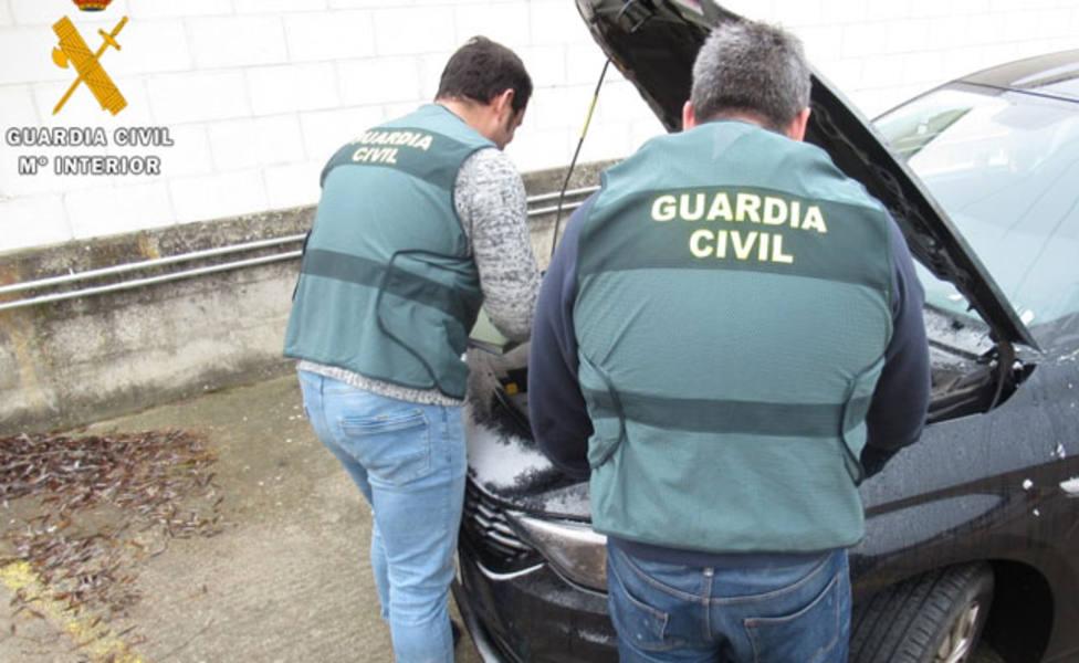 La Guardia Civil detiene en Palencia a un hombre por supuesto delito de estafa en la compra-venta de un coche