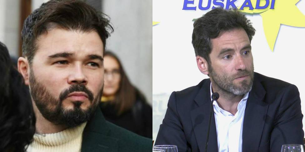 La bonita despedida de Gabriel Rufián al político del PP Borja Sémper