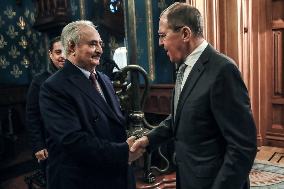 El Gobierno ruso da por hecho el alto el fuego indefinido en Libia pese a las reticencias de Haftar