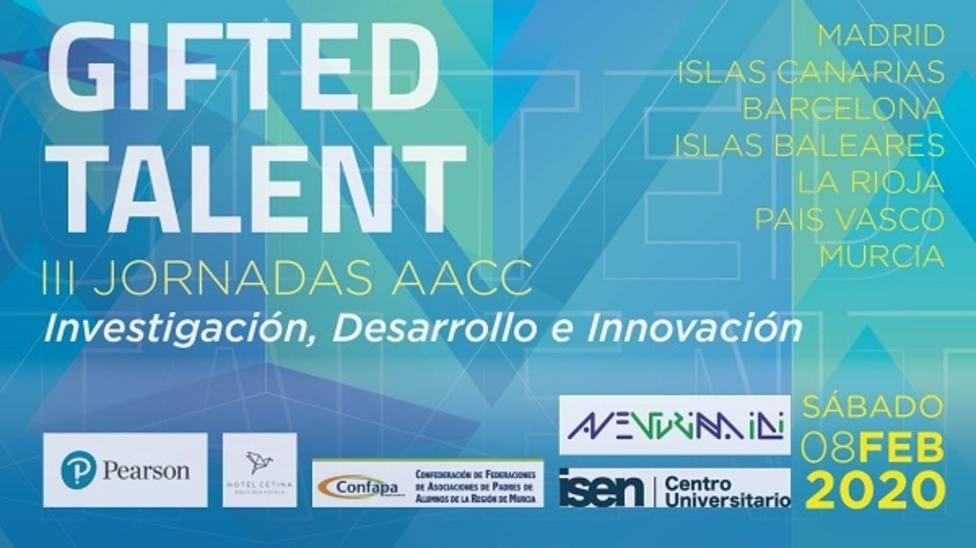 Murcia acogerá unas jornadas sobre investigación, desarrollo e innovación en altas capacidades