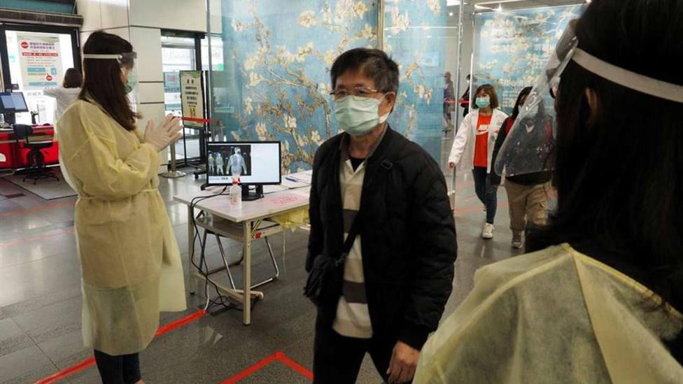 Un hombre de 61 años la primera víctima mortal por el coronavirus en Taiwan