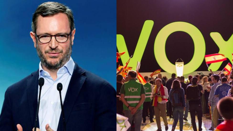 El error de TVE rotulando al Javier Maroto que desata las risas en redes: Portavox del PP