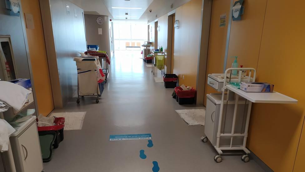 Interior del Hospital Público da Mariña