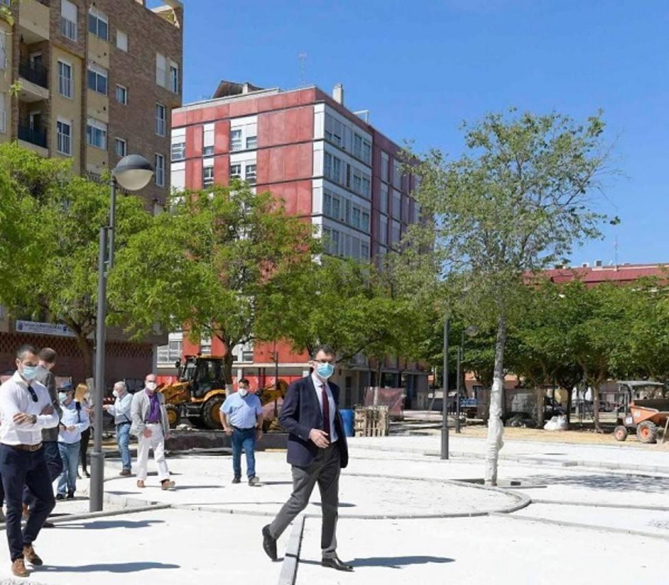 Ronda Sur contará con un nuevo eje peatonal de 12.000 m2 que unirá los jardines Maestro Ibarra y José Antonio